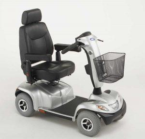 Elektro Scooter mit Lehne
